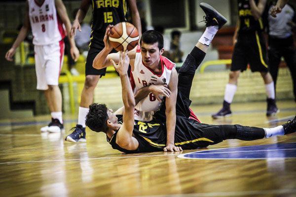 پیروزی تیم بسکتبال جوانان ایران در اولین دیدار