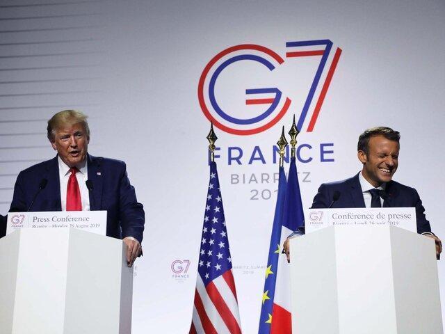نشست گروه 7 آن چیزی نبود که ترامپ می خواست