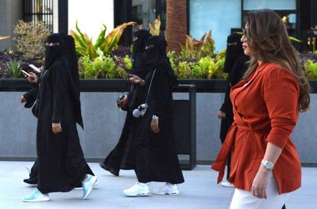 تغییر در پوشش زنان عربستانی