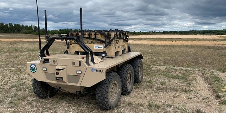 خودروهای نظامی رباتیک برای تأمین نیازهای سربازان