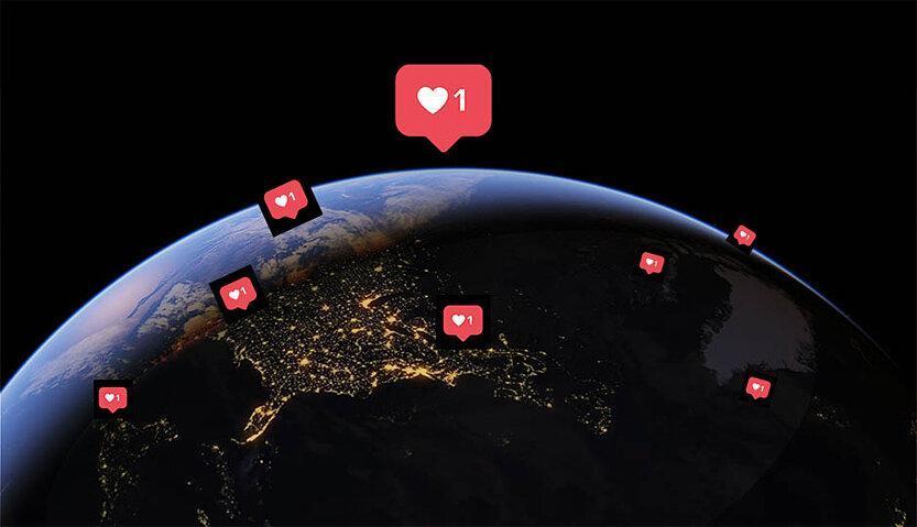 اجتماع جهانی در شبکه های اجتماعی