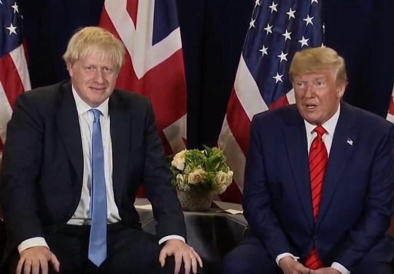 دیدار ترامپ و جانسون در نیویورک