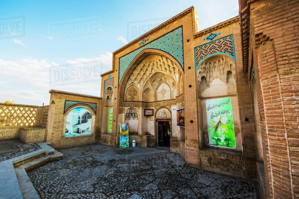 حمام تاریخی سلطان امیراحمد کاشان Sultan Amir Ahmad Bathhouse