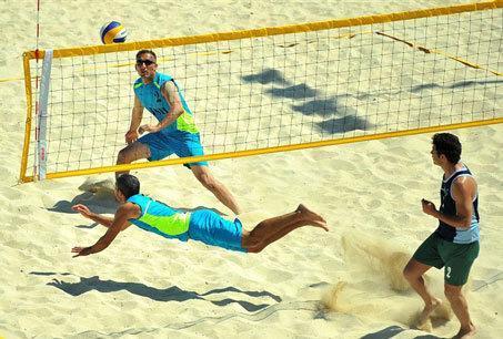 ناکامی ساحلی بازان ایران در رقابت های جوانان آسیا